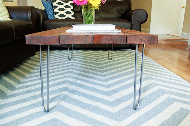 Delighted To Be Diy Hairpin Legs Coffee Table