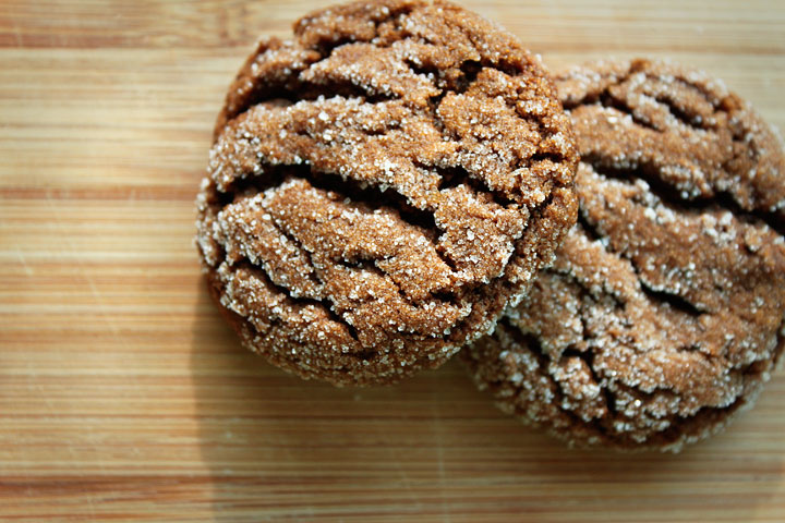 delighted to be » Recipe: Vegan Gingersnap Cookies